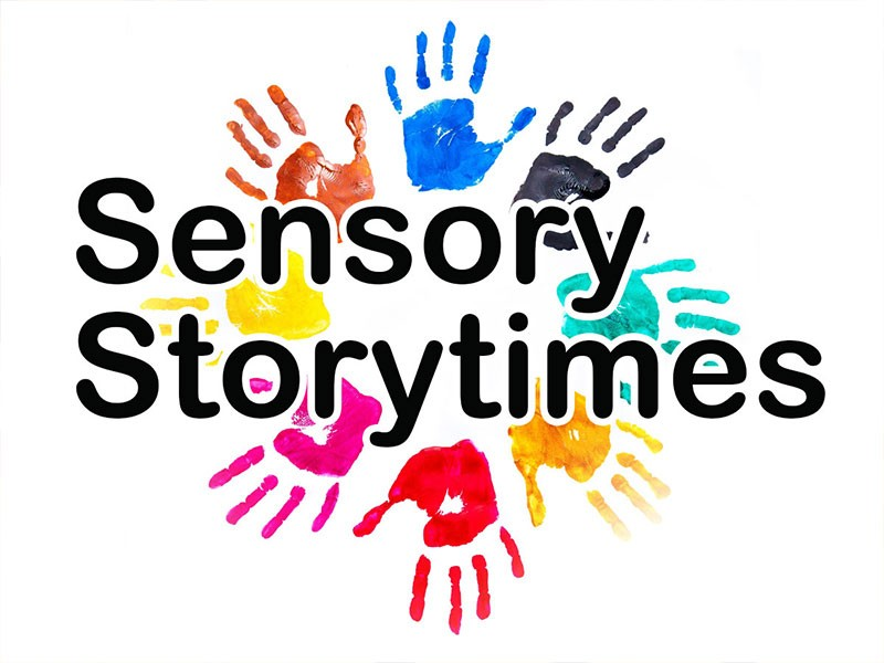 Sensory Storytime.  4 week series starting Wednesday, June 23 at 10:00 am. on the Library Lawn.  This storytime is for kids on the Autism Spectrum, kids with sensory issues or kids that just have a hard time sitting still.  All our welcome!