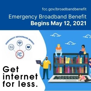 Emergency Broadband Internet Begins May 12